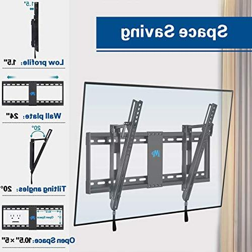 Mounting Dream TV Wall Mount Most TV, VESA 200x100 600x400mm Loading Capacity Fits Studs