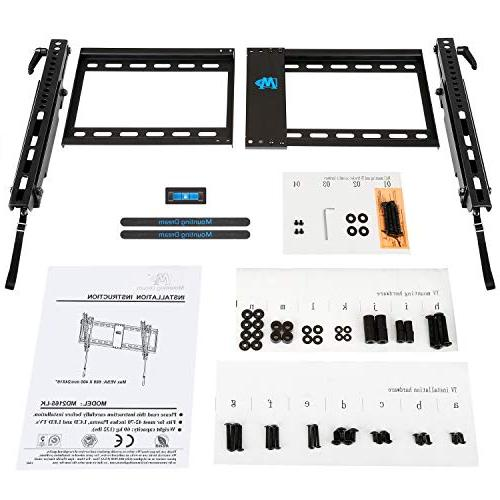 "Mounting Dream Wall Mount Most TV, with 200x100 to Loading Capacity 132 lbs, Fits 16"", Studs"