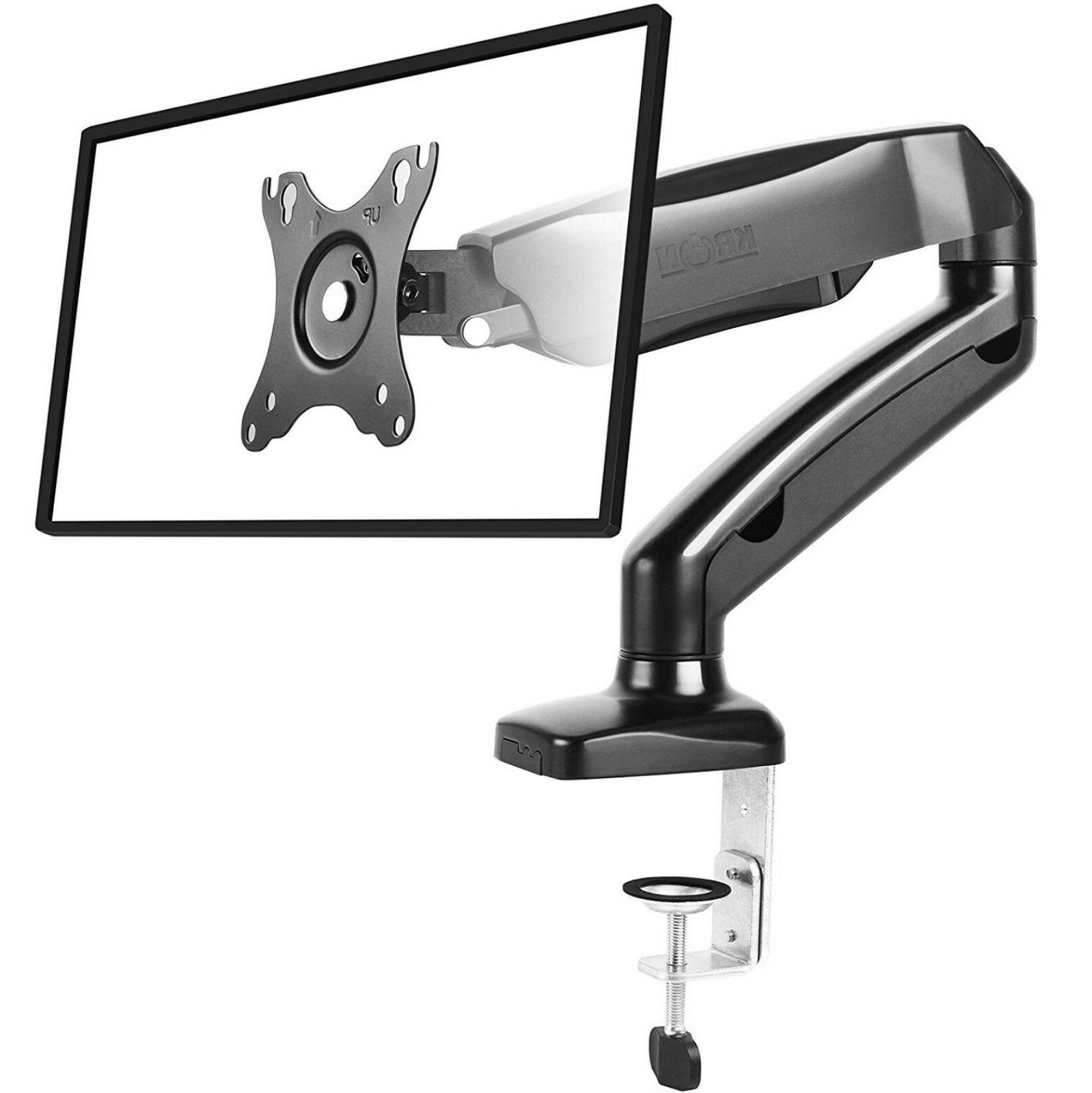 ONKRON Desk Mount Articulating Arm for LED LCD Flat Panel TV