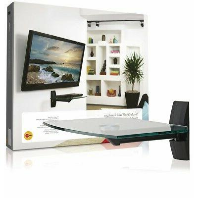 OmniMount ECSB Component Shelf Wall Shelf for TVs and Video