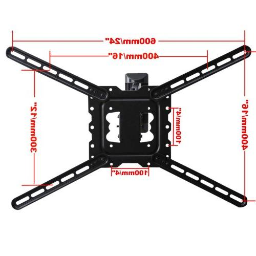 """TV Profile Cantilever Swing bracket for to 55"""" TV Flat VESA 200x200 400x400 up to"""