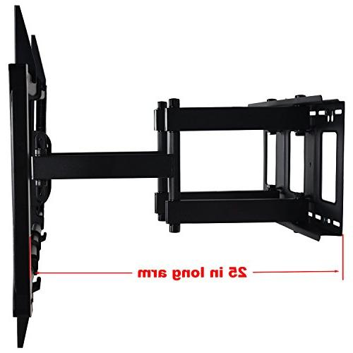 """VideoSecu Articulating TV Large Heavy Swivel Bracket for Most 60"""" 62"""" 70"""" 78"""" 80"""", Some Models up 85"""" LED Dual pulls up to"""