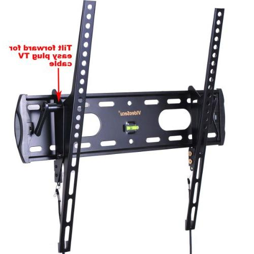 VideoSecu TV Wall Tilt Low Slim Mount for Most LED Some up TV to 1FE