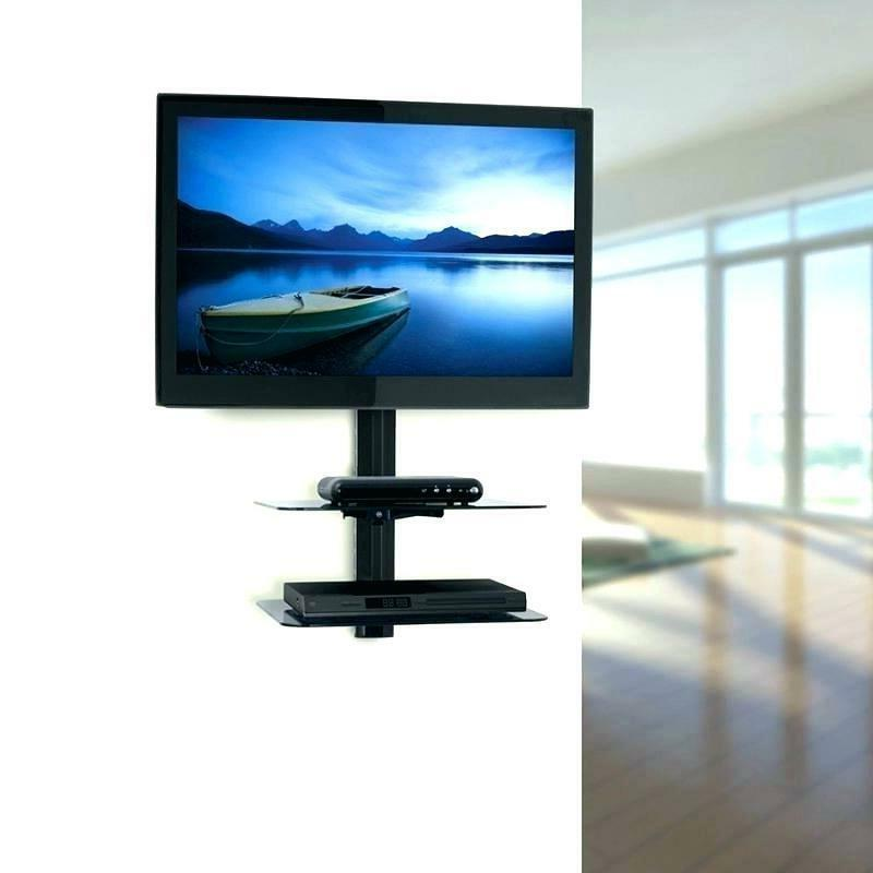 Adjustable Wall Mount Shelf for TV Box Console Bracket