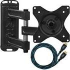 Articulating Arm Mounts TV Wall Mount Bracket HDMI Cable Mou