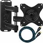 "TV Wall Mount Bracket for 12-24"" TVs & Displays up to VESA"