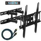 dual articulating arm tv wall mount bracket