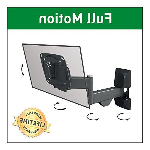 """Barkan E140 Curved/Flat Wall for 13"""" - 29"""" Screens to 33 lbs,"""