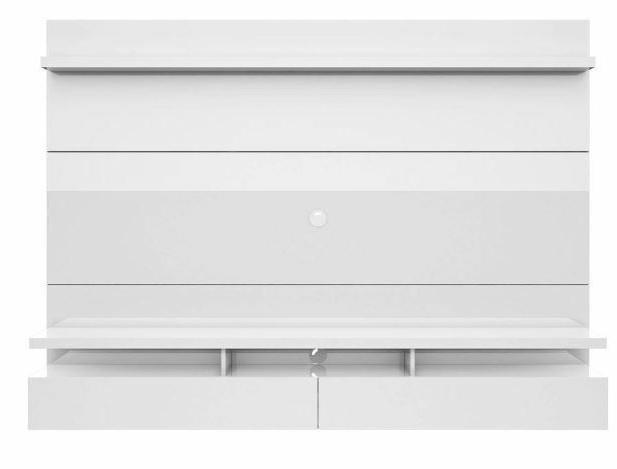 Floating Entertainment Center Wall Unit TV Screen White