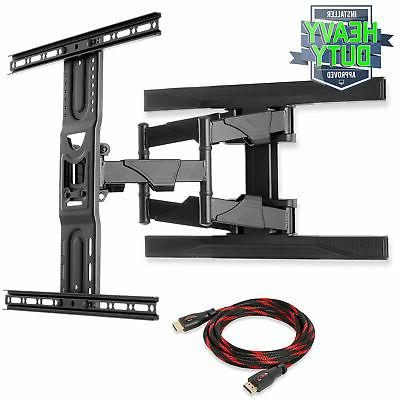 full motion articulating tv wall tilt mount