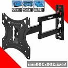 Full Motion TV Wall Mount Swivel Bracket 19 20 22 23 24 26 3