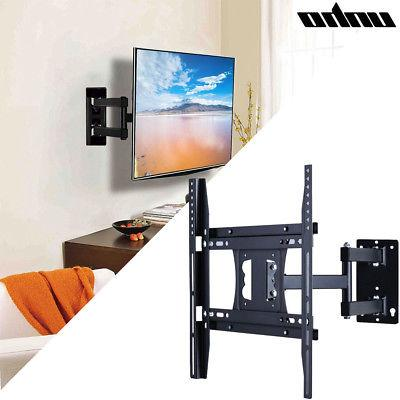 full motion tv wall mount tilt swivel