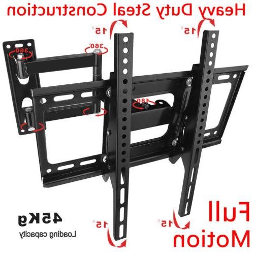Full Motion TV Wall Mount VESA Bracket 32 46 50 55 inch LED