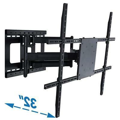 Full Motion TV Wall Mount with 32 inch Long Extension for 42