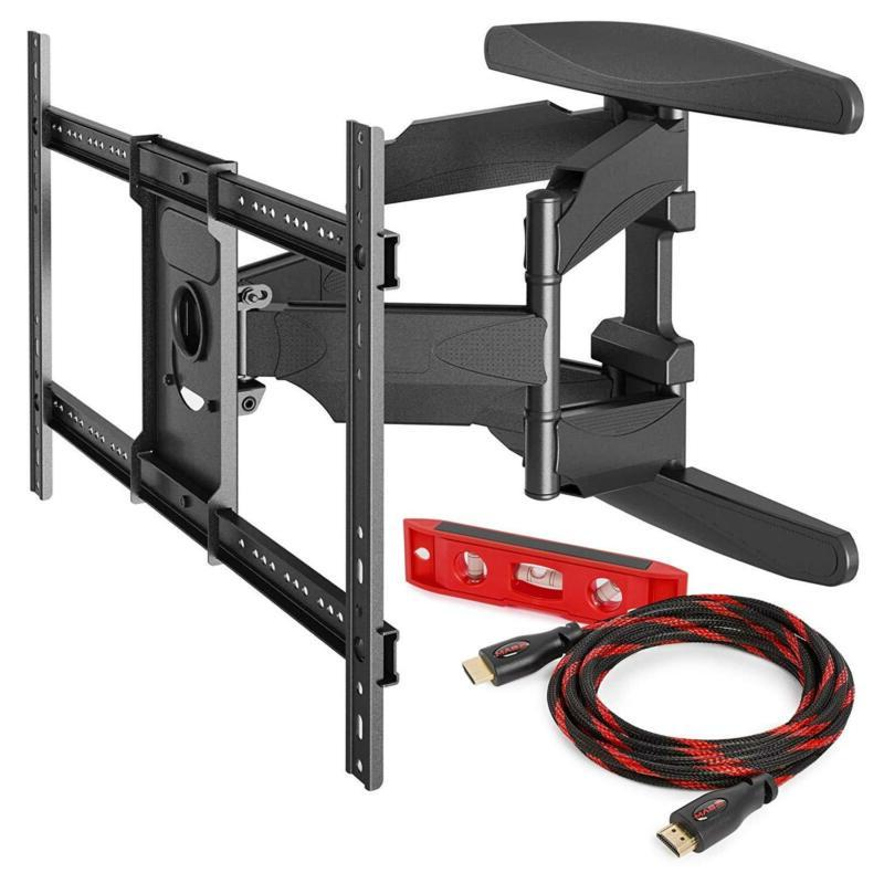 Mount Factory Heavy-Duty Full Motion Articulating TV Wall Mo