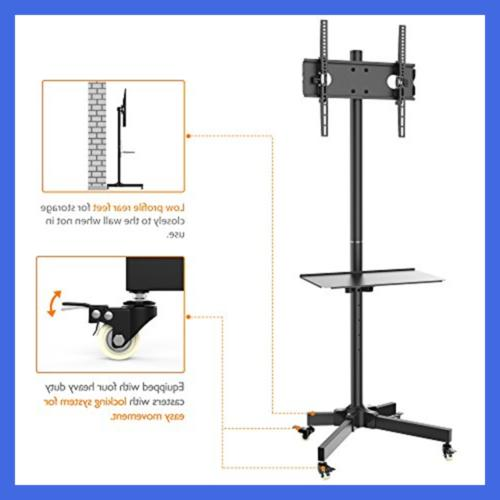 "Mobile TV Stand Mount Home Display Trolley For 55"" Plasma/L"