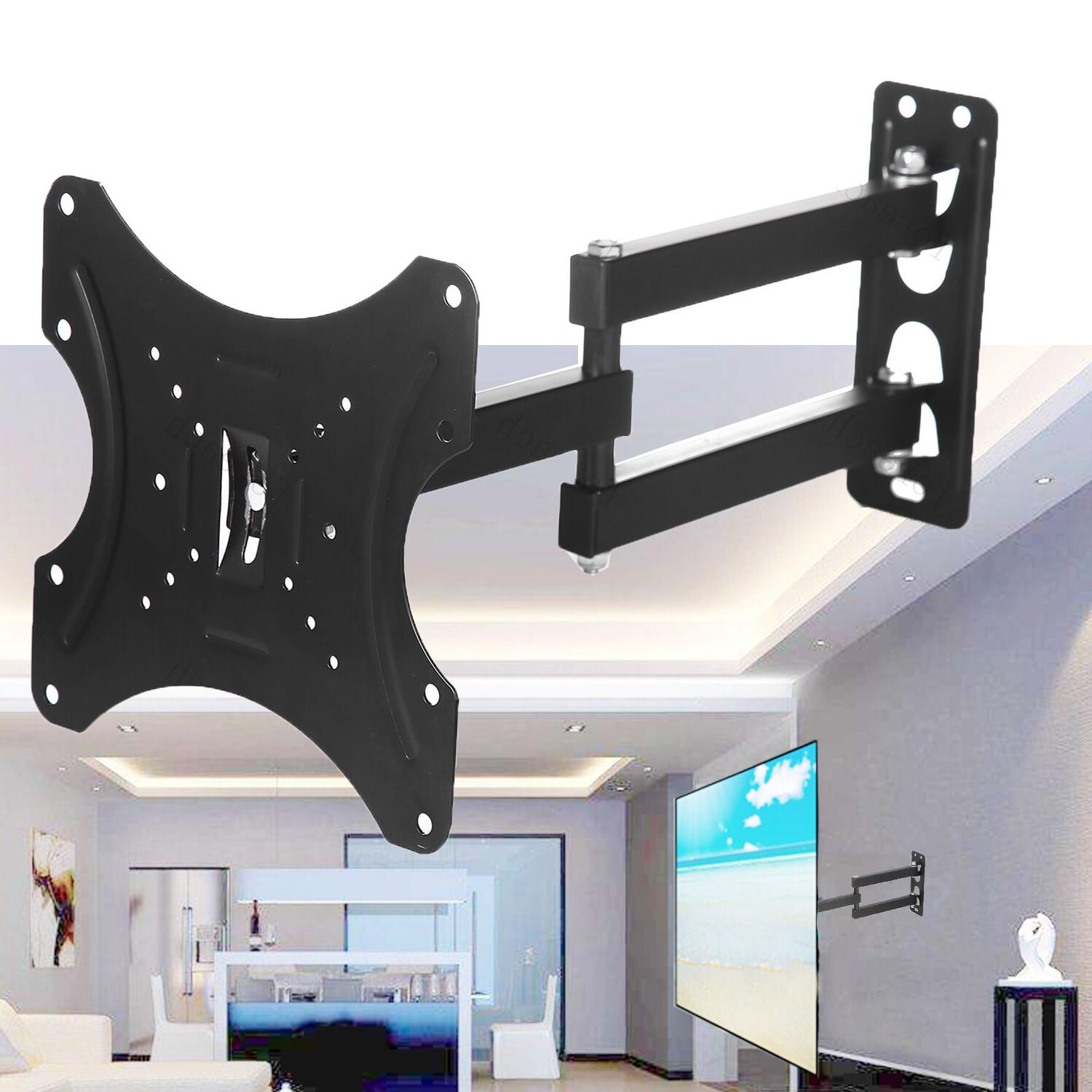 Full Motion TV wall mount Tilt swivel 24 32 37 39 40 42 inch