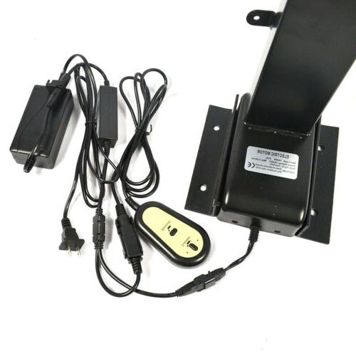 Motorized Flat TV Mount Stand Screen 1000N w/ Remote