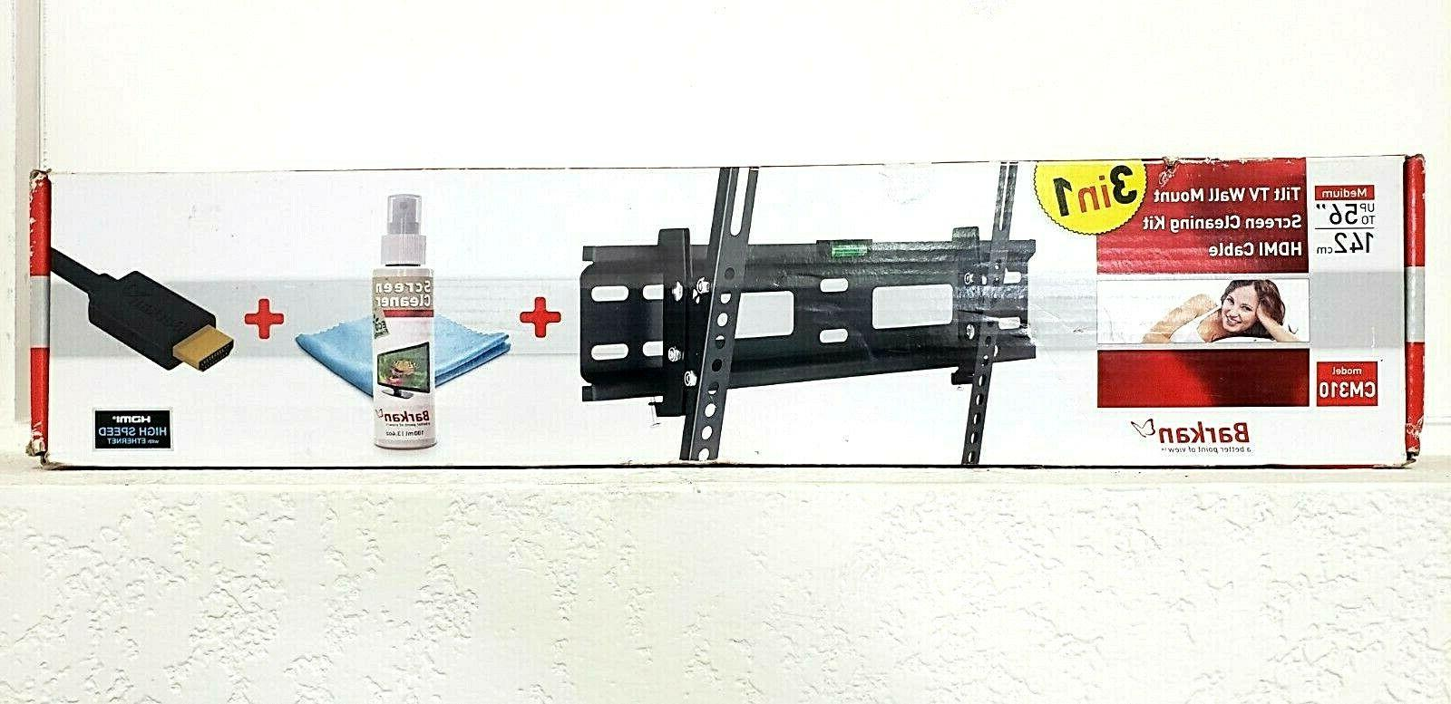 new tv wall mount for flat or