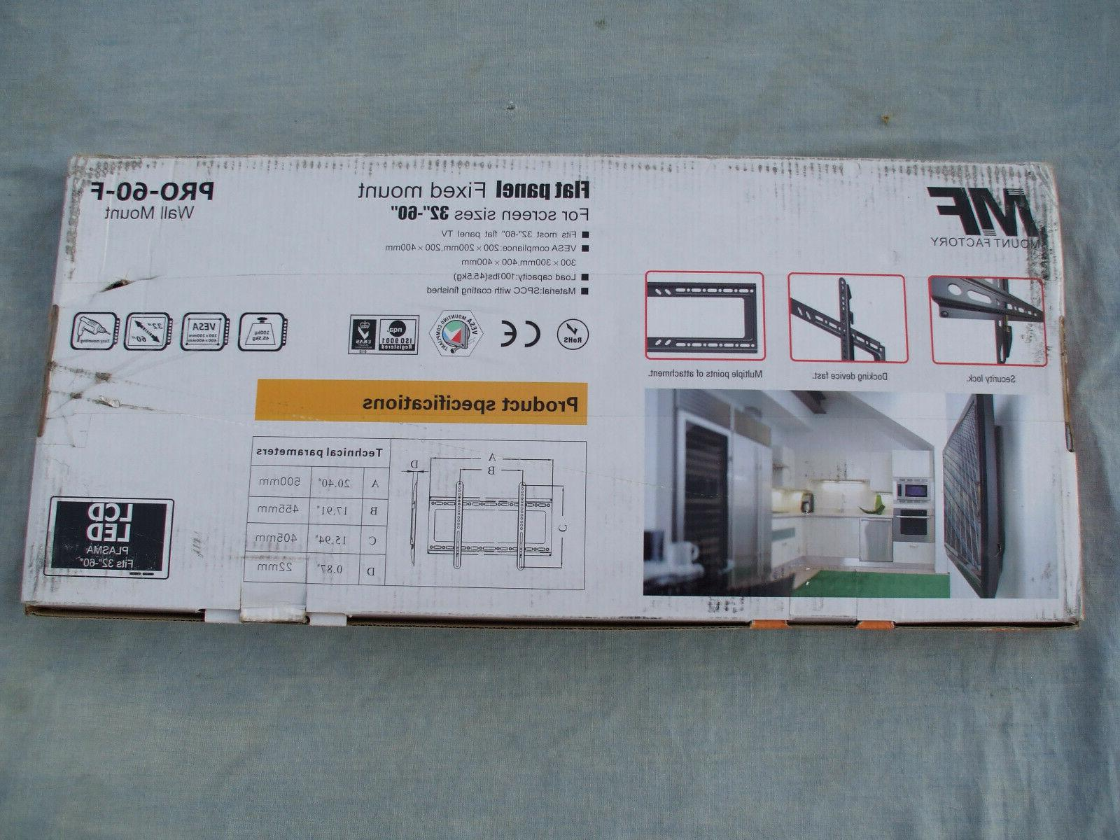 MOUNT FACTORY WALL FOR LCD, LED, AND