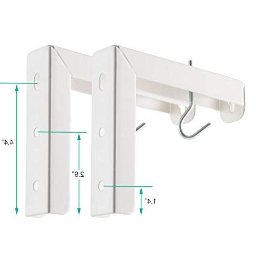 Universal Wall Hanging Manual, Spectrum Perfect Screen Placement 66lbs/30kg , White