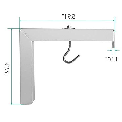 Wall Mount Adjustable Manual, Spectrum and Perfect Screen Placement up to 66lbs/30kg ,