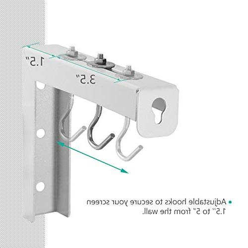 Universal Screen Wall Mount Adjustable Extension Manual, Spectrum and Screen Placement up