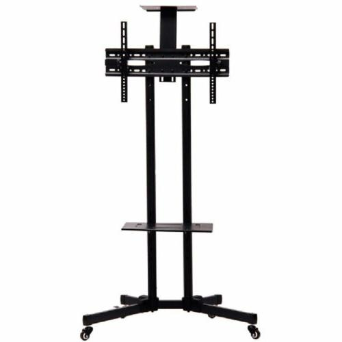 rolling tv cart stand mount