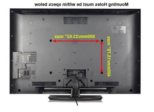 SLIM LCD LED TV MOUNT TILT 40 46 48 55 60 65