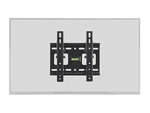 Stable Series Slim Wall Mount for 32 42 TVs Black UL