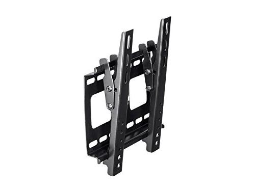 Stable Series Tilting Wall Mount 32 TVs Black UL