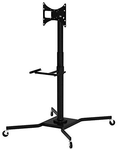 steel mobile tv cart stand