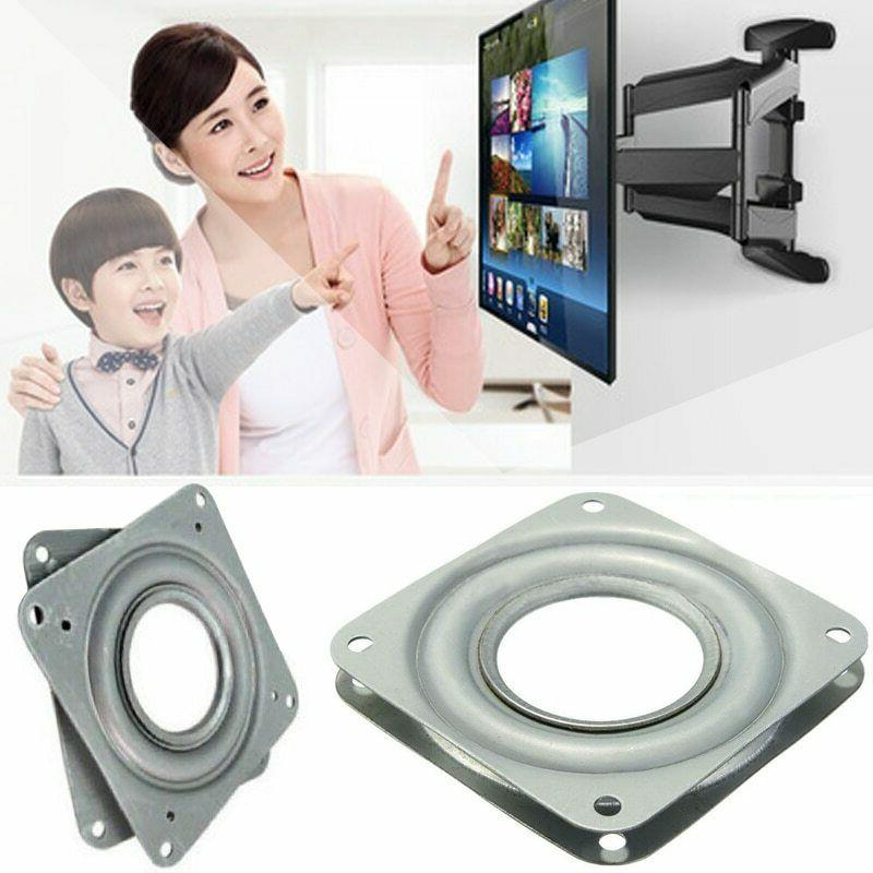 Swivel Plate TV Mount Stand Stainless Steel