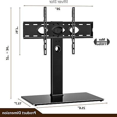 Universal Swivel TV Base with for TVs