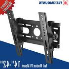 Tilt LCD LED Plasma Flat TV Wall Mount Bracket 15 17 19 22 2