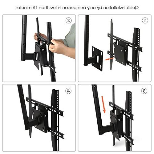 "SIMBR Bracket Adjustable Full Motion Quick for "" LED, Flat TV,up VESA"