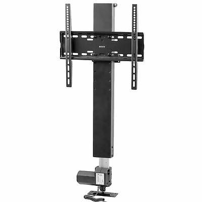 tv motorized vertical stand lift height adjustable