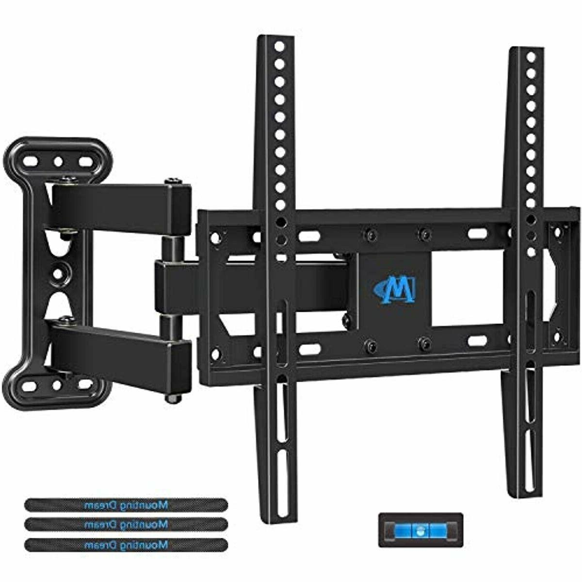 tv mount full motion with perfect center