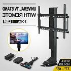 "TV Mount Lift for 37"" ~ 65"" TVs Height Adjustable Simple"