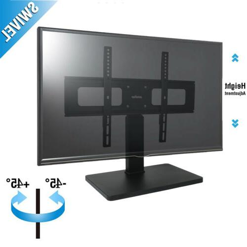 """Swivel Universal Base Table Top TV Stand W/ Mount for 27-65"""""""