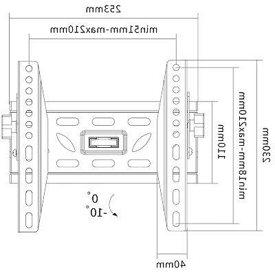 """LCD LED TV Mount 42"""" for"""