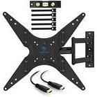 """PERLESMITH TV Wall Mount for 23""""-55"""" TVs - Bracket with"""