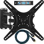TV Wall Mount Full Motion Swivel Bracket 32 40 42 47 55 In w