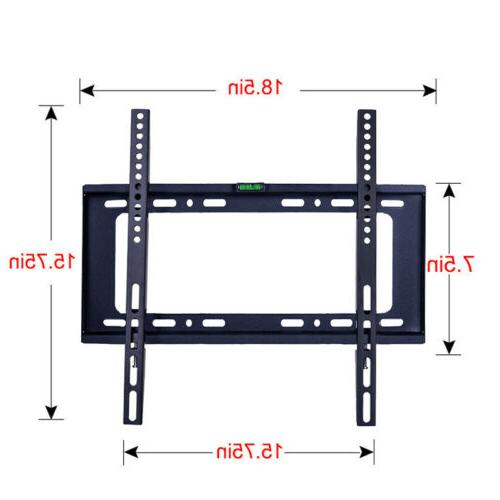 flat tv wall mount bracket vesa