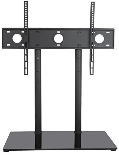 VIVO Universal Economic LCD Flat Screen TV Table Top Stand w