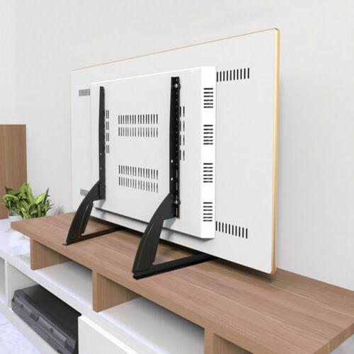universal table top tv stand base mount