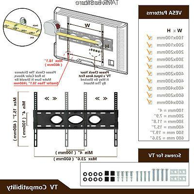 Universal Base with Mount for 40-80 inch TVs
