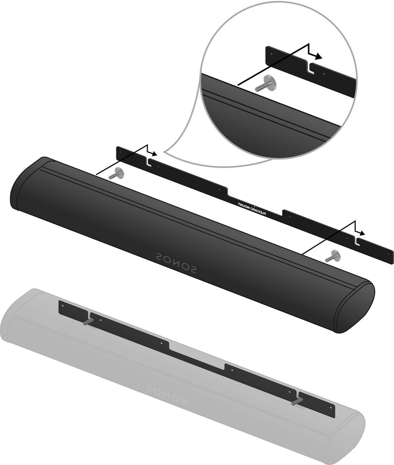 Wall Mount Bracket for available in Black or White,
