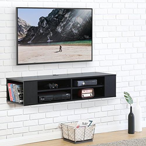 wall mounted audio console black