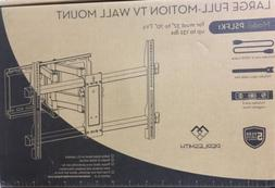 """Perlesmith Large Full Motion TV Wall Mount for 37""""-70"""" T"""